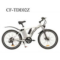 "26"" CE Electric Bike with Brushless Hub Motor"