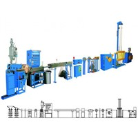 Computer cable extrusion machine