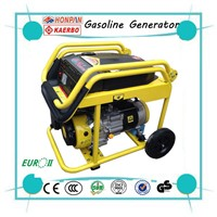 Handle Wheel 5kw Gasoline Generator Set