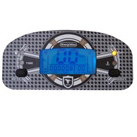 Speedometer for motorcycle motorboat