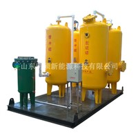 portable natural gas filter, desulfurization tank