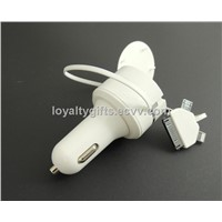 universal 5v 2A 3 in 1 multiple mobile phone car charger