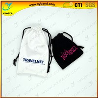 Custom logo new cotton drawstring bag for gift,drawstring bag