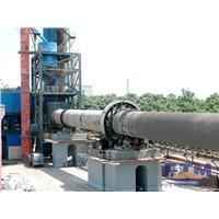 Dry type cement rotary kiln