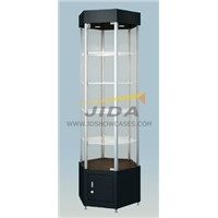 Tower Display Case for Stores and Supermarket