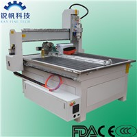 4 axis wood CNC router machine RF-1313-4.5KW-Ray Fine