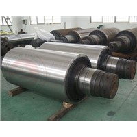 Auto Carbon Steel Heavy Steel Forgings Forged Shaft roller For Rolling Mill , Length 15000mm