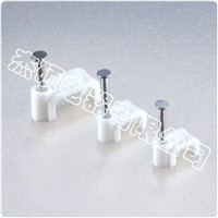 Flat  steel  nail  Cable  Clip