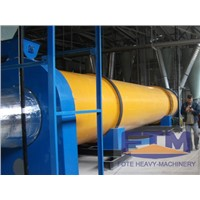 High capacity mini sawdust dryer