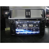 IN DASH CAR GPS DVD PLAYER FOR 2014 TOYOTA PRADO WITH GPS RDS IPOD BT TV SWC CE 6.0