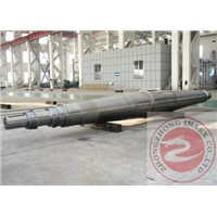 Q345 hexagonal DC motor shaft Heavy Steel Forgings For chemical machinery , GB / T3077 1999