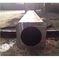 ST 52.3 Heavy Steel Open Die Forgings ASTM A388 EN10228 , Column Square Pipe Forging