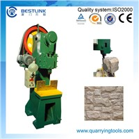 Sales Marble Mushroom Face Decorative Stone Breaking Machine