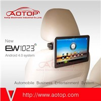 10.1inch Android Headrest LCD Monitor support wifi and 3G Dongle