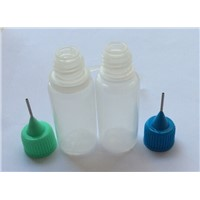 10ml PE ecigarette bottle with needle tip dropper bottle