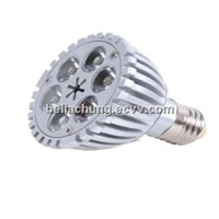 110V/220V E27base 540lm 6W decorative led spotlight