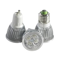 cabinet decoration 110v/220v/12v MR16/E27/GU10 base 360lm 4W LED spot lamp