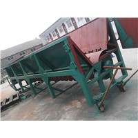 High efficiency slot type wood debarker machine