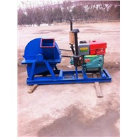 High efficiency wood crusher machine