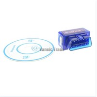 Mini ELM327 V1.5 OBD2 II Bluetooth Car Auto Diagnostic Interface Scanner Tool