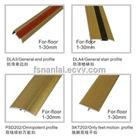 floor 1-30mm CK Sandy-Aluminium Flooring Profile