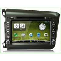 Newsmy  For Honda Civic  ,car gps player,car double din dvd player,