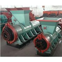 Sliver charcoal briquette making machine