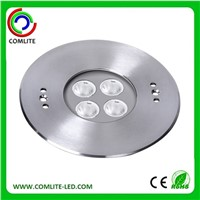 316 Stainless Steel RGB Underwater LED Light 4x2w