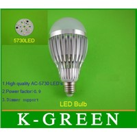 Hot Sales 220v 5730 3w5w7w9w12w Led Bulb Lamp