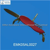 Stainless steel multi knife with aluminium handle /handle color can be customized(EMK05AL0027)