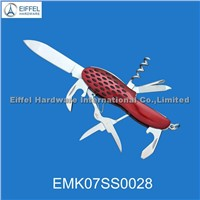 Stainless steel promotional gift knife ( EMK057SS0028 )