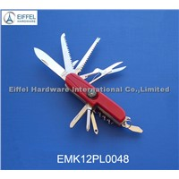 High quality stainless steel Multi knife with compass(EMK12PL0048)
