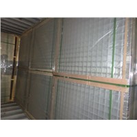 Flat Galvanized Welded Wire Mesh panel for construction