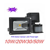 Promotion Pir Motion Sensor 10w 20w 30w 50w Led Flood Light