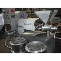 Screw type peanut soybean oil press machine