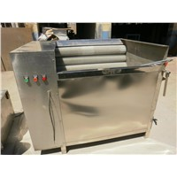 Stainless steel potato peeling and washng machine