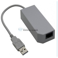 USB Internet Ethernet LAN Network Adapter Connector For Nintendo Wii/ Wii U New