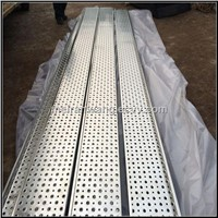 Galvanized Non-slip perforated plates/anti skid perforated floor