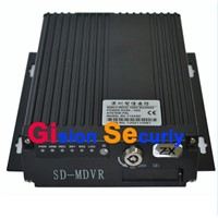 4 Channel WIFI+GPS SD Card Mobile DVR