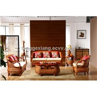2014 new patterned designed indoor rattan sofa set