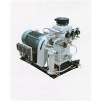 Disel Motor Drive Two Stage Marine Air Compressor