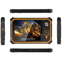 Rugged Tablet With UHF RFID NFC Fingerprint Reading Barcode Scanner GPS Glonass Beidou