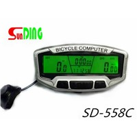 Wireless Waterproof LCD Bike Bicycle Cycle Computer Odometer Speedometer Timer
