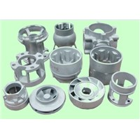 stainless steel pump casting parts / pump body