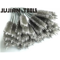 stainless steel wire tube cleaning brush