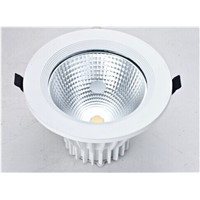 COB LED recessed downlights 10Watts Bridgelux LED Chip And High CRI Ra90