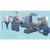 PE/PS/PP/Filler masterbatch compounding/pelletizing machine/line