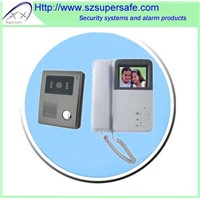 "4"" Wired Color Video Door Phone"