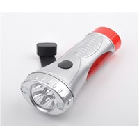 Crank Flashlight,led flashlight,dynamo flashlight DD-12