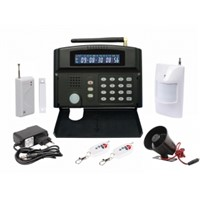 Smart home Multi-function LCD GSM Alarm System